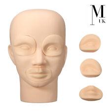 Practice Training Head - PMU Microblading Permanent Makeup Skin Mannequin Head