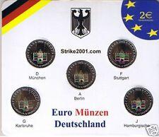 5 PZ 2 EURO COMM GERMANIA 2006 A D F G J Holstein