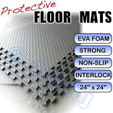 Garage / Workshop Flooring Mats Tiles Interlock LT GREY