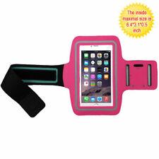 Hot Pink Sports Gym Running Jogging Walking Armband Case Phone Holder Strap