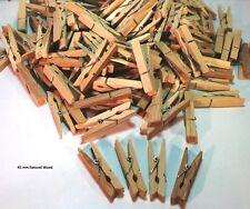 Mini Wooden Pegs 45 mm 10,25,50,100 pcs