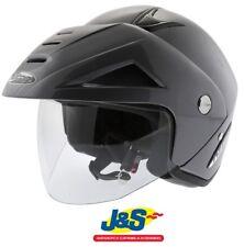 Nitro X512 V Open-Face Motorcycle Helmet Motorbike Touring Metallic Gun J&S