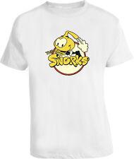 The Snorks 80S Retro Cartoon Classic NEW White T Shirt