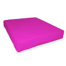 pa813t Fuschia Water Proof Outdoor PVC 3D Box Sofa Seat Cushion Cover*Customize