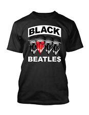Black Beatles Tee Shirt  Big and Tall Small  10XL  Men Graphic Pro Club T Shirt