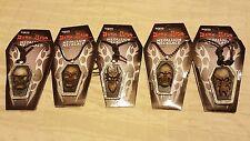 Dark Side Collections Medallion Necklace Skull Biker Gothic Novelty Pendant