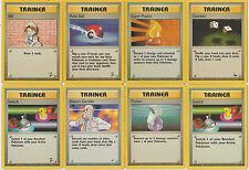 POKEMON ENERGY TRAINER CARDS ORIGINAL 1999/2000 BASE SET