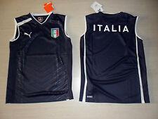 10099 ITALIA PUMA MAGLIA ALLENAMENTO SMANICATA SMANICATO CANOTTA SL SHIRT JER