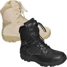 Army Stiefel Herrenschuhe schwarz beige Größe 38-47 Arbeitsschuhe Reißverschluss