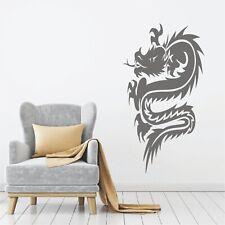 Chinesische Drachen Wandtattoo Dragon Asien China Drache Wandaufkleber Deko14