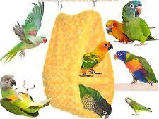 Cozy Parrot DOUBLE Hideaway: Perfect for conures, quaker parrots, rosella
