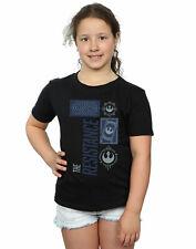 Star Wars Girls The Last Jedi The Resistance T-Shirt