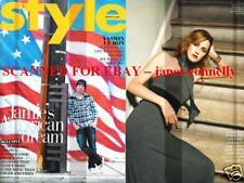 JAMIE OLIVER Kate Moss YASMIN LE BON Rufus Wainwright Style Mag (23 August 2009)