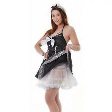LADIES WHITE HALF NET PETTICOAT UNDERSKIRT CRINOLINE SLIP FANCY DRESS COSTUME