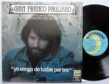 GIAN FRANCO PAGLIARO Yo Vengo de Todas Partes NM LP