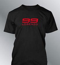 Tee shirt personnalise Lorenzo 99 S M L XL XXL homme col rond moto GP motogp