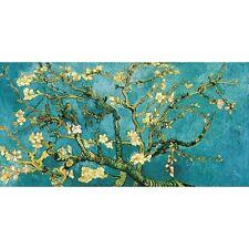 Quadro su Pannello in Legno MDF Vincent Van Gogh Mandorlo in fiore (detail)