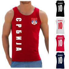 La Serbie Србија WM 2018 Sweat Veste Maillot Nom Numéro