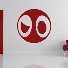 Deadpool cartoon superhéros logo mur art autocollant (AS10220)