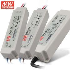 Alimentatore LED Driver 12V 24V MeanWell Serie LPV 35W 60W 100W 150W da Esterno