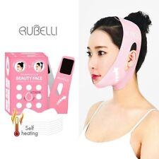 Rubelli Beauty Face Set : Slimming Belt + 7 Face Sheets / V - Line Face Lift UP
