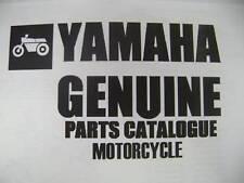 YAMAHA PARTS MANUAL 1973 GT1 GTMX 1974 GT80 GTMXA
