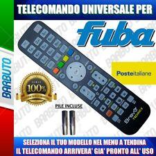 TELECOMANDO UNIVERSALE FUBA CLICCA IL TUO MODELLO E LO RICEVERAI GIA PRONTO