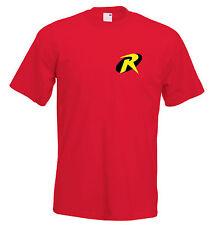 Robin batman t shirt fancy dress robin t shirt stag do shirt super hero t shirt