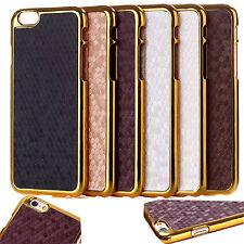 "Luxury Bling Ultra Slim Carbon Fiber Hard Case Cover For Apple iPhone 6 4.7"""