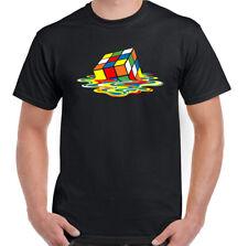 MELTING RUBIK CUBE T-Shirt, Sheldon Cooper The Big Bang Theory TEE Unisex TOP