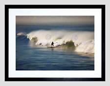 Lo SPORT SURF SURF SURFISTA OCEAN WAVE MARE COOL CORNICE NERA ART PRINT b12x13362