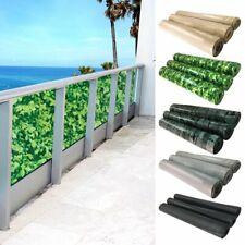 Balkonsichtschutz Sichtschutz Balkonbespannung Windschutz Balkon PVC Markise UV