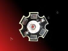 3W High Power LED auf Starplatine tiefrot rot deepred hyper red 660nm 800mA Hi