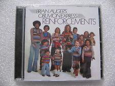 CD BRIAN AUGER'S OBLIVION EXPRESS - REINFORCEMENTS / neuf & scellé