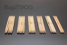 Nadelspiel Wahl 2.0 - 4.0mm Länge 13cm Sockenstricknadel Bambus Strumpfnadeln