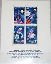 DAHOMEY 1970 Block 17 S/S C118 1st manned Moon Landing Mondlandung Space MNH