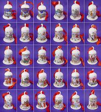 Hutschenreuther Weihnachtsglocken, 1978-2018 mit neuem Satinband; Einzelverkauf