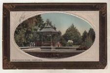 SOUTH AFRICA - PRETORIA, BURGHER'S PARK 1910 Hallis Postcard *