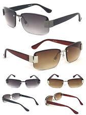 Mens Rimless Sun Readers Reading Glasses Sunglasses UV Protection