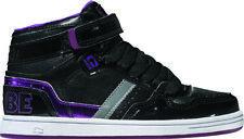 Globe Scarpa Alta Sneaker alla caviglia SUPERFLY Kids Nero-Viola Touch Fastener