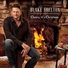 FREE US SHIP. on ANY 2+ CDs! NEW CD Blake Shelton: Cheers, it's Christmas. Origi