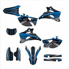 2007 2008 2009 2010 2011 2012 2013 2014 WR 250F Graphics sticker kit #3333-Blue