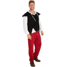 Costume de tavernier pour homme fête carnaval de monsieur adult confortable