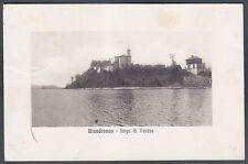 VARESE BIANDRONNO 01 LAGO di VARESE Cartolina viaggiata 1911 Ed. ALTEROCCA TERNI
