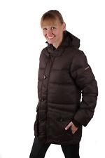 Napapijri Damen Winterjacke Daunen Jacke Parka Braun #RIF050