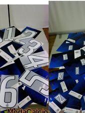 Inter Fc Kit Personalizzazione Libera x maglia calcio lettere numero tg 11 12