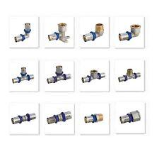 Pressfitting DVGW Emmeti Schraubfitting für 16/2mm 20/2mm Aluverbundrohr PEX