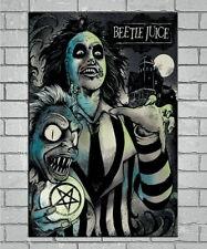 143942 Beetlejuic Tim Burton Wall Poster Print Affiche