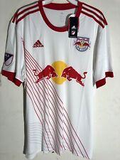 Adidas MLS Jersey New York Red Bulls Team White sz L