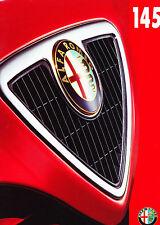 1998 1999 Alfa Romeo 145 Original Sales Brochure